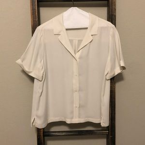 Banana Republic blouse in White